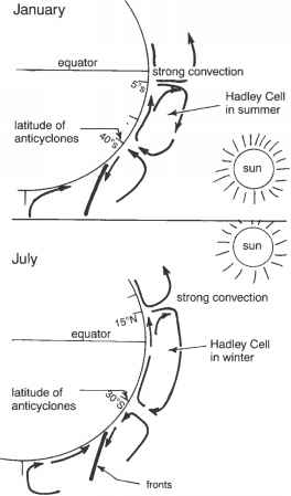 Hadley Cell Diagram