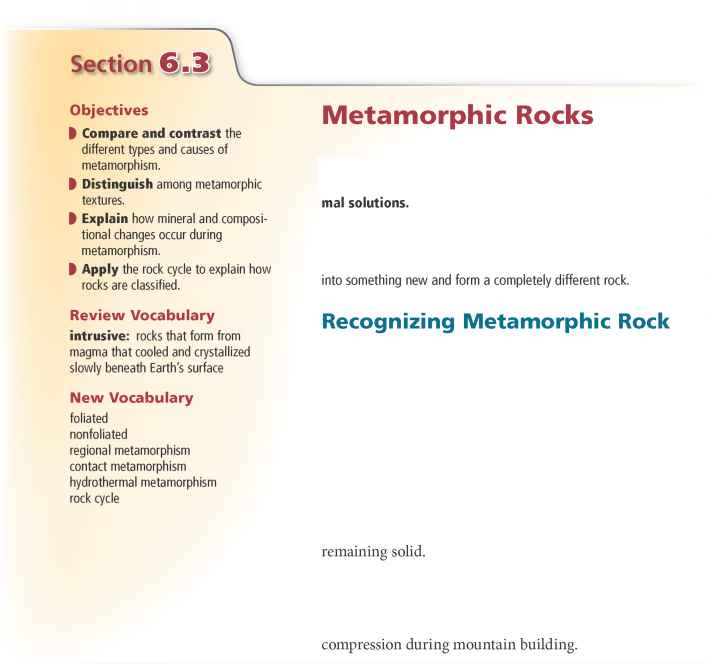 Section Assessment - Geology - Global Warming Causes
