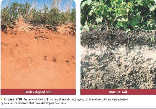 Image gallery residual soil for Soil and geology