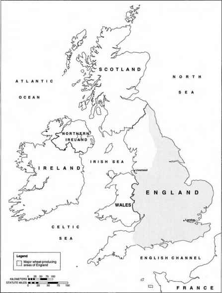Wheat A Global Crop The Green Revolution Global Warming Causes - Us map drawn by brits