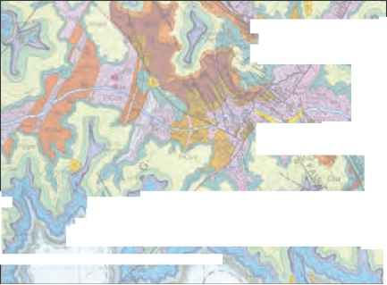 Geological Map The Grand Canyon