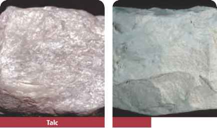 Flaky Mineral Contains Silicon Oxygen