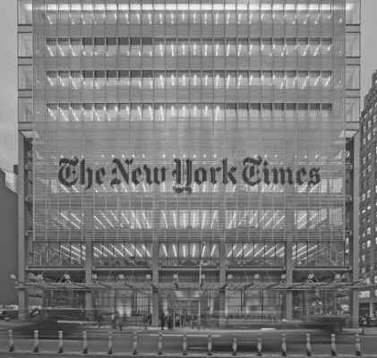 Bruce Fowle New York Times Building