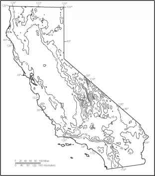 California Physical Features