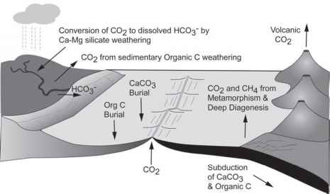 Short Term Carbon Cycle Volcanism
