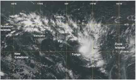 South Pacific Convergence Zone