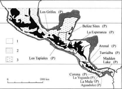 Monteverde Archaeological Site Map