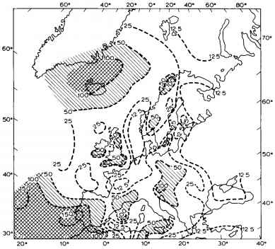 topographic effects weather and climate global warming causes Things That Causes Global Warming figure 10 10 the mean precipitation anomaly as a percentage of the average during anticyclonic blocking in winter over scandinavia